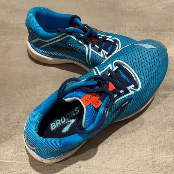 Brooks Adrenaline 20 Turquoise 7 Shoe